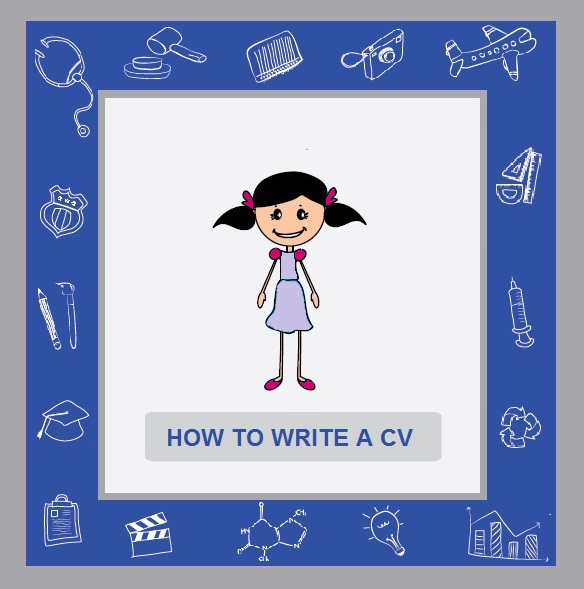 How to write a CV cover image