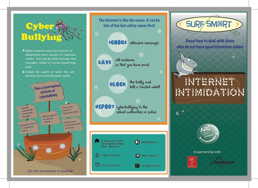 Internet Intimidation brochure